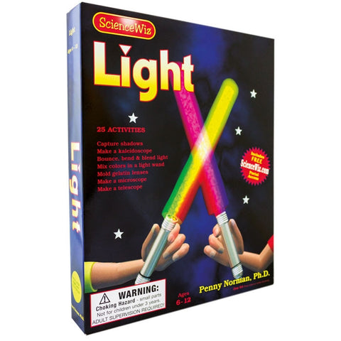 Science Wiz: Light Experiment Kit with 25 Activities