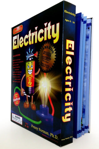 Science Wiz: Electricity Experiment Kit with 18 Activities for ages 5-10
