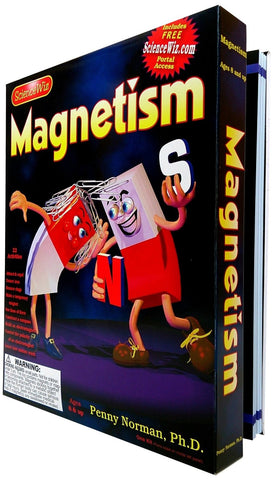 Science Wiz: Magnetism Experiment Kit with 22 Activities