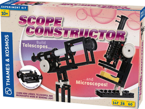 Scope Constructor - Build Telescopes, Microscopes, and Binoculars By Thames and Kosmos
