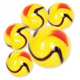 Scorpion Game Net Set 25 Piece Glass Mega Marbles