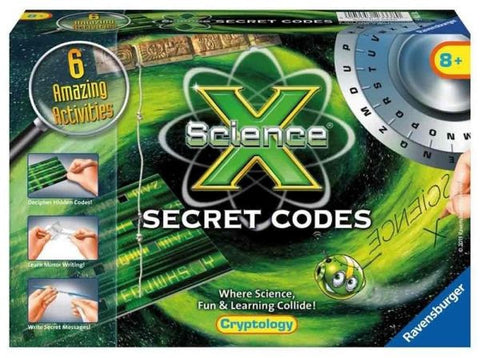 Science X - Secret Codes - Cryptology Activities