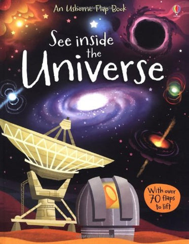 Usborne See Inside the Universe Flap Book