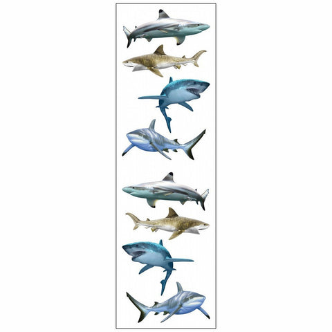 Mrs Grossman's Stickers - Shark World Animal Photos