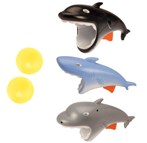 One Popper Ball Launcher - Shark, Dolphin or Whale