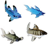 Looking Glass Miniature Collectible - 4 Different Shark Designs