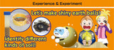 Shiny Earth Balls Kit and Study Guide By Artec