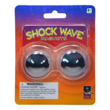 Shock Wave Magnets - Hematite Buzz Magnets - Pack of 2