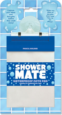 Shower Mate Waterproof Note Pad by Peter Pauper Press
