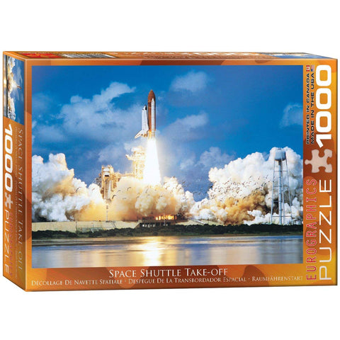 "Space Shuttle Take-Off 1,000 Piece Puzzle 20"" x 27"""