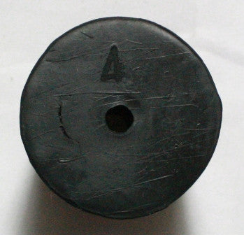 Rubber Stopper: One-Hole: Size 4