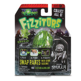 Test Tube Alien: Fizzitor - Hatching Toy Action Figure - SKULLY