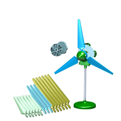 SKY-Z Limitless Wind Pitch Educational Kit, w/18 Blades