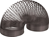 Metal Slinky Classic Toy Collector's Edition - Replica Black Coiled Spring & Box