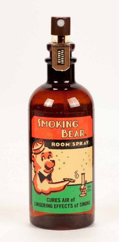 Smoking Bear Room Spray - Jasmine & Red Tea Scent Mist Air Freshener