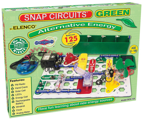 Snap Circuits Green Energy Electronic Education Toy