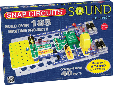 Snap Circuits Sound Kit - 185 Projects – Online Science Mall