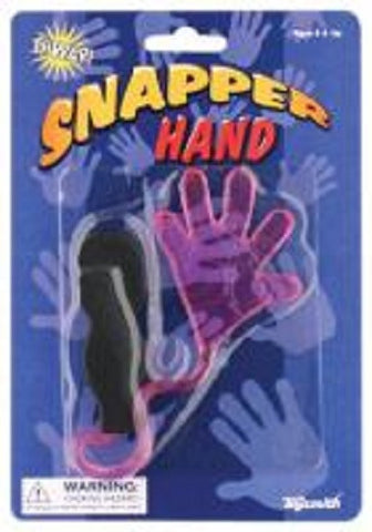 Snapper Hand Toy Sticky Fingers Stretch Up To 8 Feet-Pack of 3
