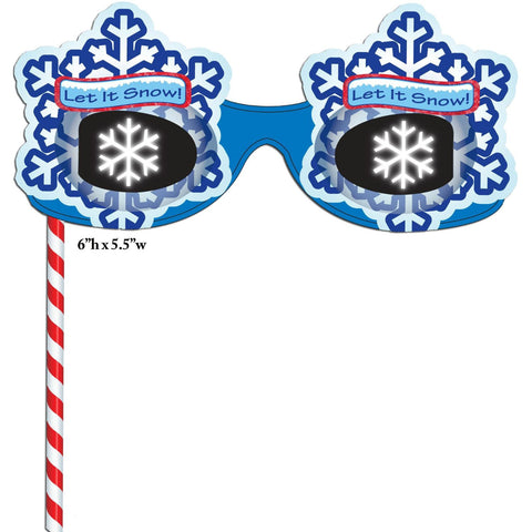 Holiday Magic 3D Viewer w Finger Light-See a SNOWFLAKE Image at Every Point of Light