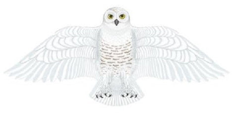 "Wildlife Snowy Owl Bird Wing Flapper Kite-55"" Wingspan"