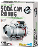 Soda Can Robug Project Kit Green Science Recycle