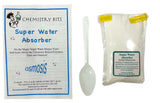 Super Water Absorber with 1LB Refill Sodium Polyacrylate - Chemistry Bits Polymer Experiment Kit