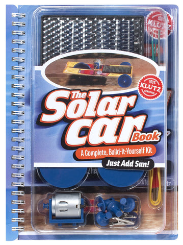 Solar Car Book- Complete Build Yourself Activity Kit by Klutz