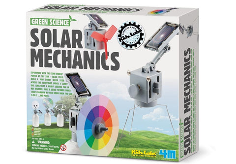Solar Mechanics Kit 4M Green Science Using Sun Rays