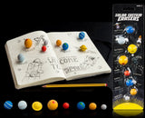 8 Planet Solar System Rubber Pencil Erasers