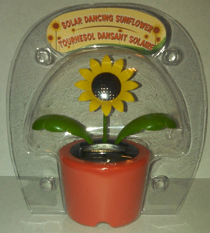 Solar Powered Dancing Sunflower