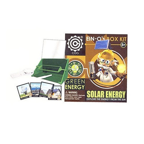 Ein-O's Solar Energy Box Kit Green Energy Science