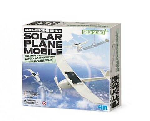4M Eco Engineering Solar Plane Mobile Green Science & Learning Kit