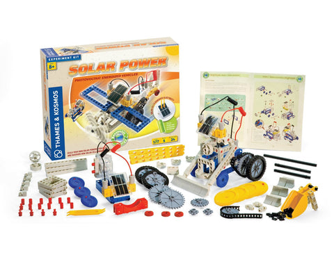 Thames & Kosmos Construction: SOLAR POWER: Science Kit