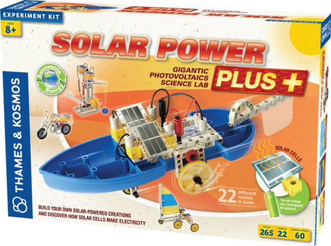 Thames & Kosmos Construction: SOLAR POWER PLUS: Science Kit