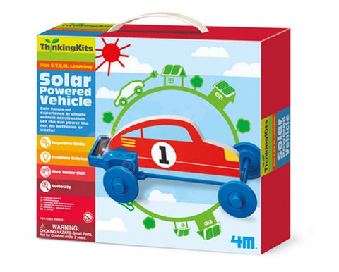 4M Thinking Kit STEM Learning Solar Powered Vehicle Set