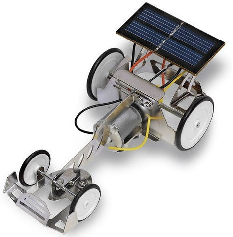 Solar Powered Fun Racer - Sun Power Motorized Kit