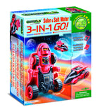 GreeneX Solar & Salt Water 3-In-1 Robot Kit