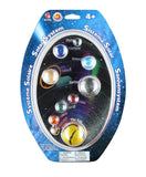 Glass Solar System Marble Gift Set by Mega Marbles