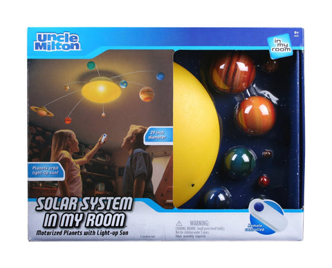 Solar System In My Room Rotating Planets By Uncle Milton