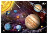 Solar System Puzzle by Educa - Neon 1000 pc - Glows in The Dark