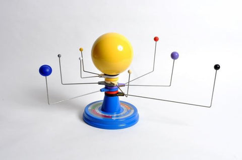 Three Dimensional Solar System Model w/Adjustable Orbits
