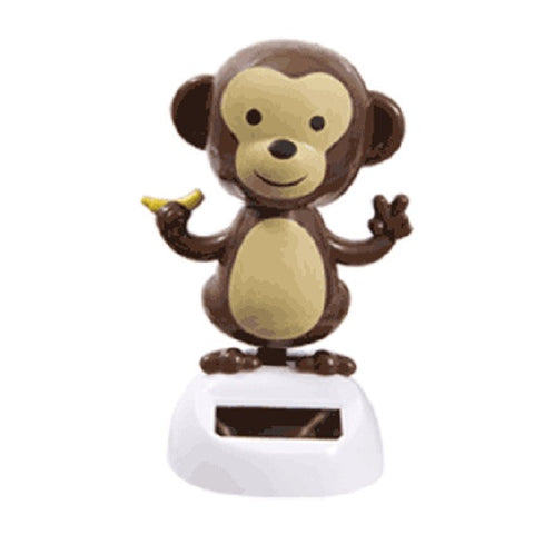 Solar Powered Dancing Monkey - Head and Arms Sway in Sunlight