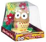 Solar Hoot Owl - Cute Solar Powered Owl Turns Head