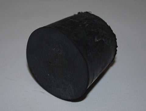 Rubber Stoppers: Solid: Per Pound: Size 6 (~18 Per LB.)