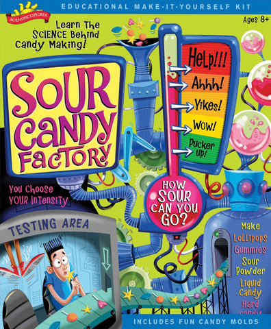 Education Sour Candy Factory Activity Kit Scientific Explorer