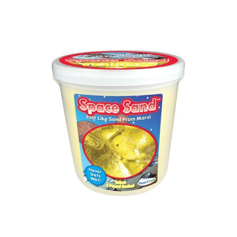 Amazing Science Bucket 5lb Space Sand Yellow