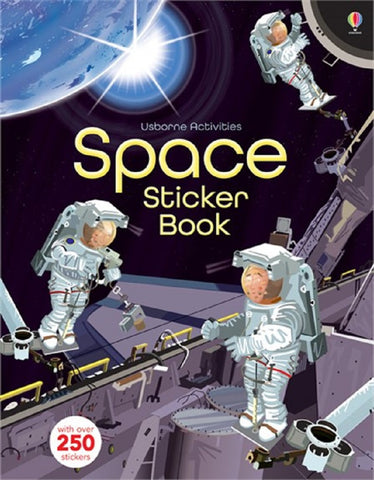 Space - Usborne Sticker Activity Book
