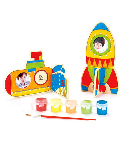 Hape Craft Kit - Space Voyage Set - 36 Pc