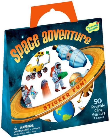 Space Adventure Reusable Sticker Activity Kit