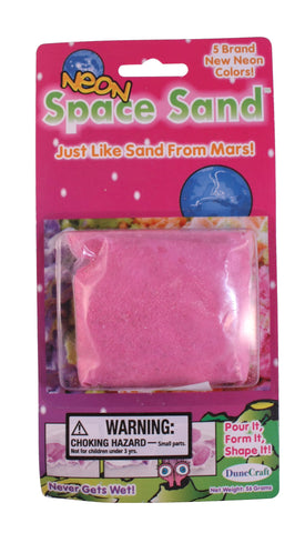 Neon Pink Space Sand: 2oz of Hydrophobic Sand
